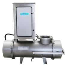 Auto cleaning UV sterilizer for waste water