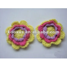 Decorative crochet handmade flower from China Yiwu Market