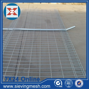 Paneles de malla de alambre galvanizado