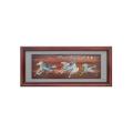 عناصر الديكور الصينية على الحائط صورة الإطار الخشبي
