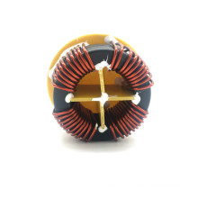 Nanocrystalline core toroidal common mode chock coil  inductor