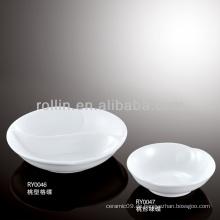 Gesundes haltbares weißes Porzellan-Ofen sicheres Gewürzgericht