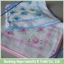 Mouchoir en coton de mouchoir en gros pour des cadeaux