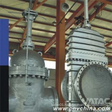 Bare Shaft Flanged Carbon Steel Through Conduit Gate Valve