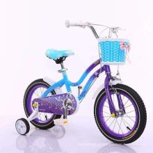 Bicicleta das meninas bicicleta bonita das crianças de 16 polegadas