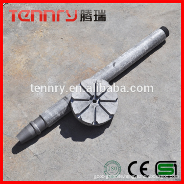 Aluminum Anti-Oxidation Degassing Graphite Rotor