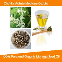 Óleo de semente de Moringa puro e orgânico 100%