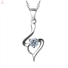 Joyería pendiente del collar de Cz de la plata esterlina de la manera 925