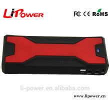 Portable 12V 18000mAH emergency power bank Mini car jump starter with 800A peak current