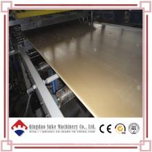 Chaîne de production d'extrusion de panneau de modèle de bâtiment de WPC
