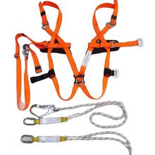Full Body Safety Harness With LanyardsFull Body Electrical Safety Harness