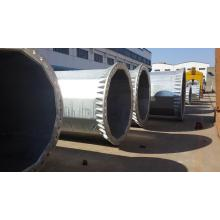 110kV Galvanized Steel Tubular Pole