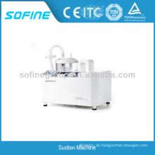 Krankenhaus Kunststoff Tragbare Schleife Sauger mit CE & ISO, Saugmaschine