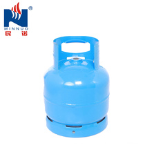 6KG blue small lpg gas cylinder for camping