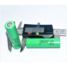 Hotsale Samsung 25R 2500mAh 3.7V Rechargeable Battery
