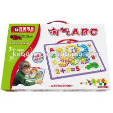 Magic ABC Plastic Blocos de construção brinquedos intelectuais