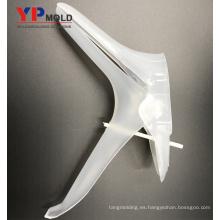 Comprobador ginecológico de plástico para dispositivos médicos, moldeado y moldeado.