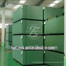 Green waterproof MDF