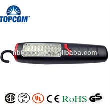 Lampe de travail magnétique en plastique 30 + 7 LED