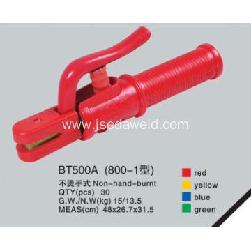 Non Hand Burnt Type Electrode Holder BT800A-1