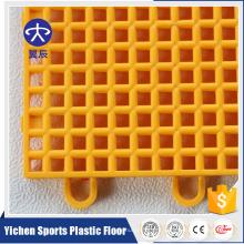 Напольных Спортов PP блокируя плитка настила баскетбола мат