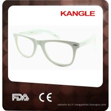 2017 lunettes de monture optique classique en gros