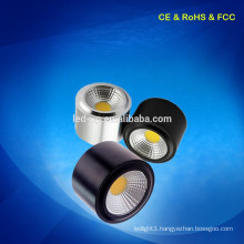 CE RoHS Approved 7W Surface Mounted commercial led spot light made in China