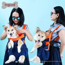 Front Pet Dog Carrier Vordere Brust Rucksack Pet Tote Holder Bag Sling