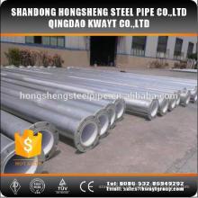 Glavanisierte Flansch Stahlrohre für Wasser Material