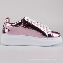 Женская обувь ботинки PU инъекции ботинки СНС-65004-Пнк