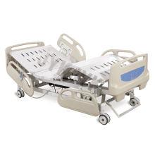 Cama de hospital eléctrico de cinco funciones