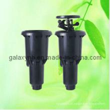Aspersor de pop-up subterrâneos do gramado ajustável movimentação da engrenagem