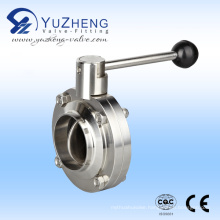 Stainless Steel Weld End Butterfly Valve