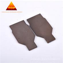 Contact d'électrode en alliage de tungstène cuivre Contact CuW