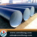 ST52 flanged helical Steel Pipe