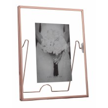Aluminum Rotatable Metal Picture Frame for Home Deco