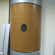 Textura de madeira painel de favo de mel de alumínio para cobertura de coluna