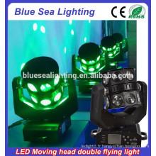 16pcs 15w LED Moving head double lumière volante / tête de tête mobile