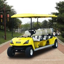 Chariot de golf électrique de 8 places de fabricants bon marché (DG-C6 + 2)