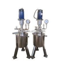 Equipo de laboratorio reactor de acero inoxidable de alta presión 10L