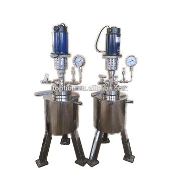 Matériel de laboratoire haute pression en acier inoxydable réacteur 10L