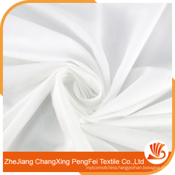High Quality Light-weight White Color 100% Polyester Fabric