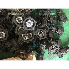 API602 800lb geschmiedeter Stahl A105 Gewinde-End-NPT-Schieber