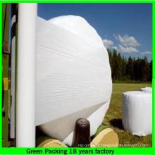Melhor Película resistente UV do envoltório da ensilagem / filme de estiramento agrícola / filme do envoltório do fardo de feno