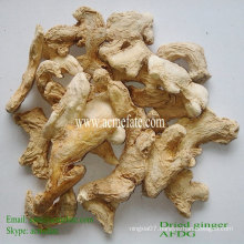 new crop air dried ginger whole spice herb