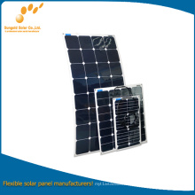 50W Flexible Solar Panel for PV Module