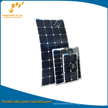 New Designed Flexible Solar Panel 12V for China Manufacturers