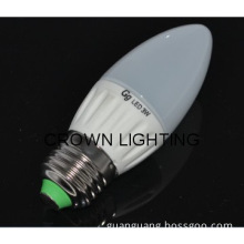 High Quality 3w e27 led candle lamp,used for indoor lighting