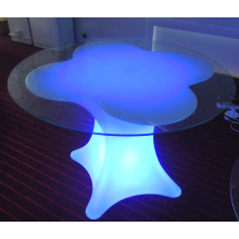 Waterproof Furniture LED Table with Glass (G001)