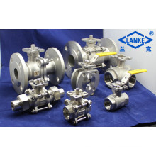 Stainless Steel High Platform Ball Valve in Flange End/Thread End (Q41)